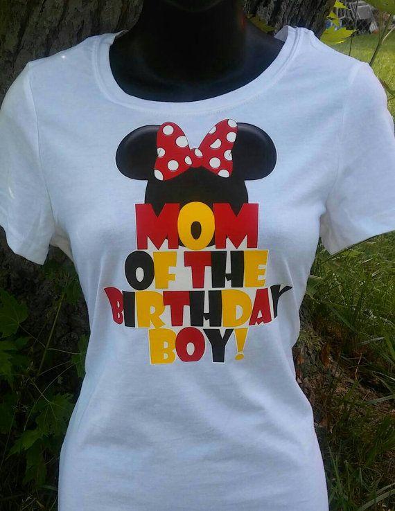 Mom Dad Of The Birthday Boy Mickey Minnie Mouse By KirlyxCloset