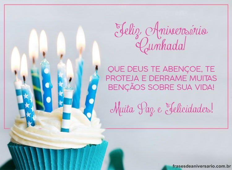 Parabéns E Felicidades Cunhada: Felicidades Cunhada! – Frases De Aniversário