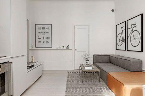 Klein Appartement Inrichting : Perfecte woonkamer van een klein appartement interieur