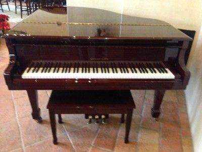 Conover Cable Baby Grand Piano Cc155 Ebay Baby Grand Pianos Piano Grand Piano