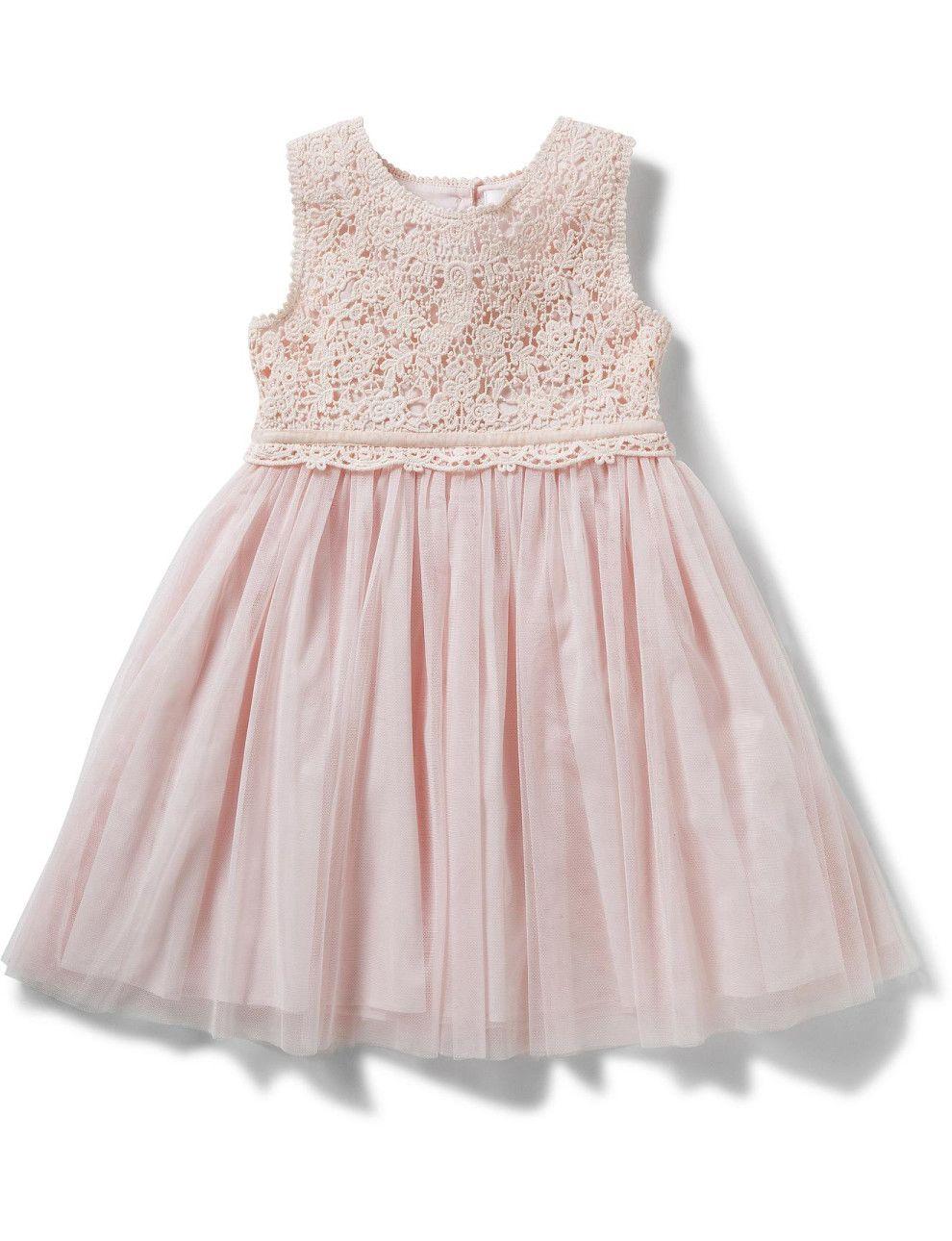 Sophia Lace Yoke Dress | David Jones | Wedding Dress, Bridesmaid ...