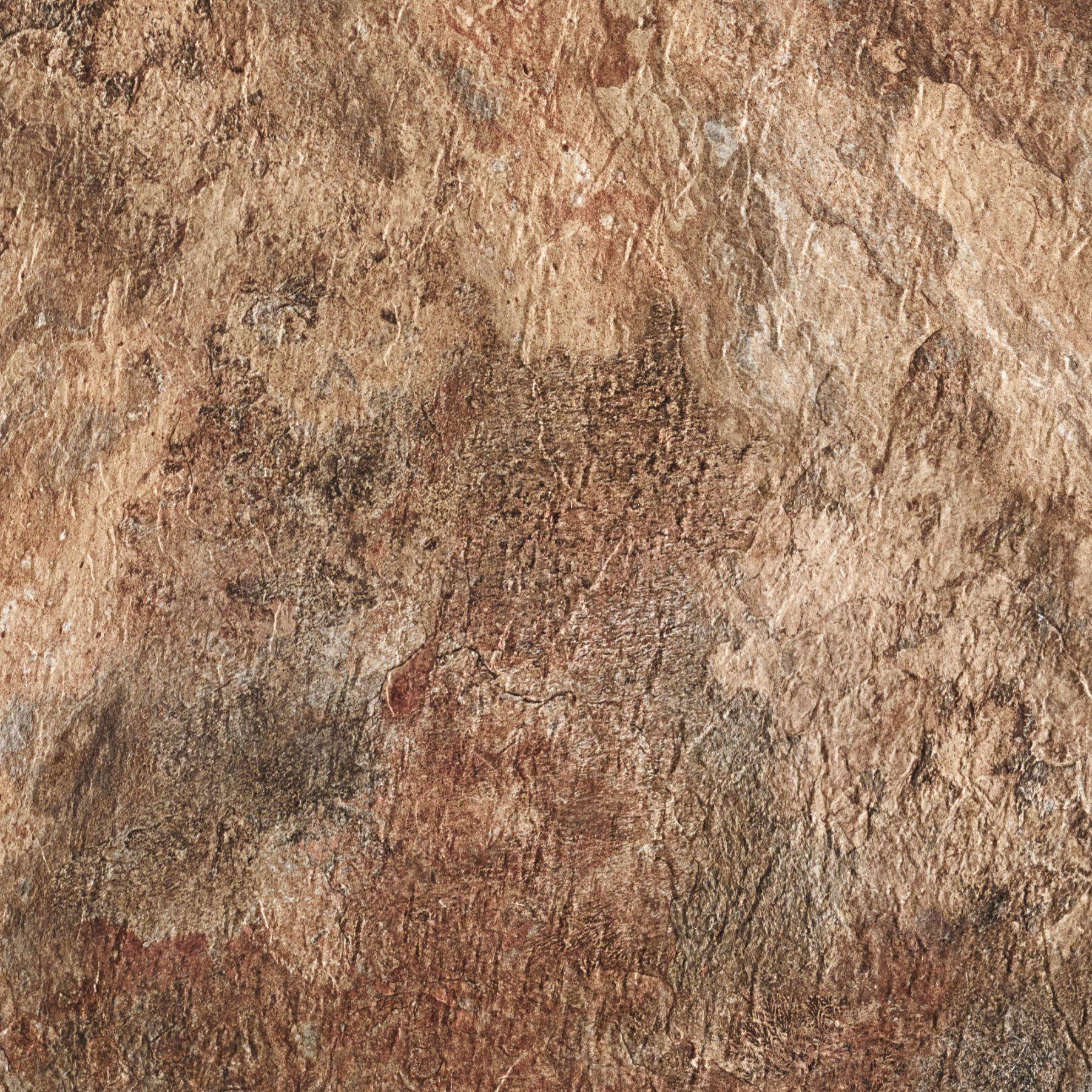 Rustic Slate Stone Self Stick Adhesive Vinyl Floor Tiles: Achim Majestic Rustic Copper Slate 18x18 Self Adhesive