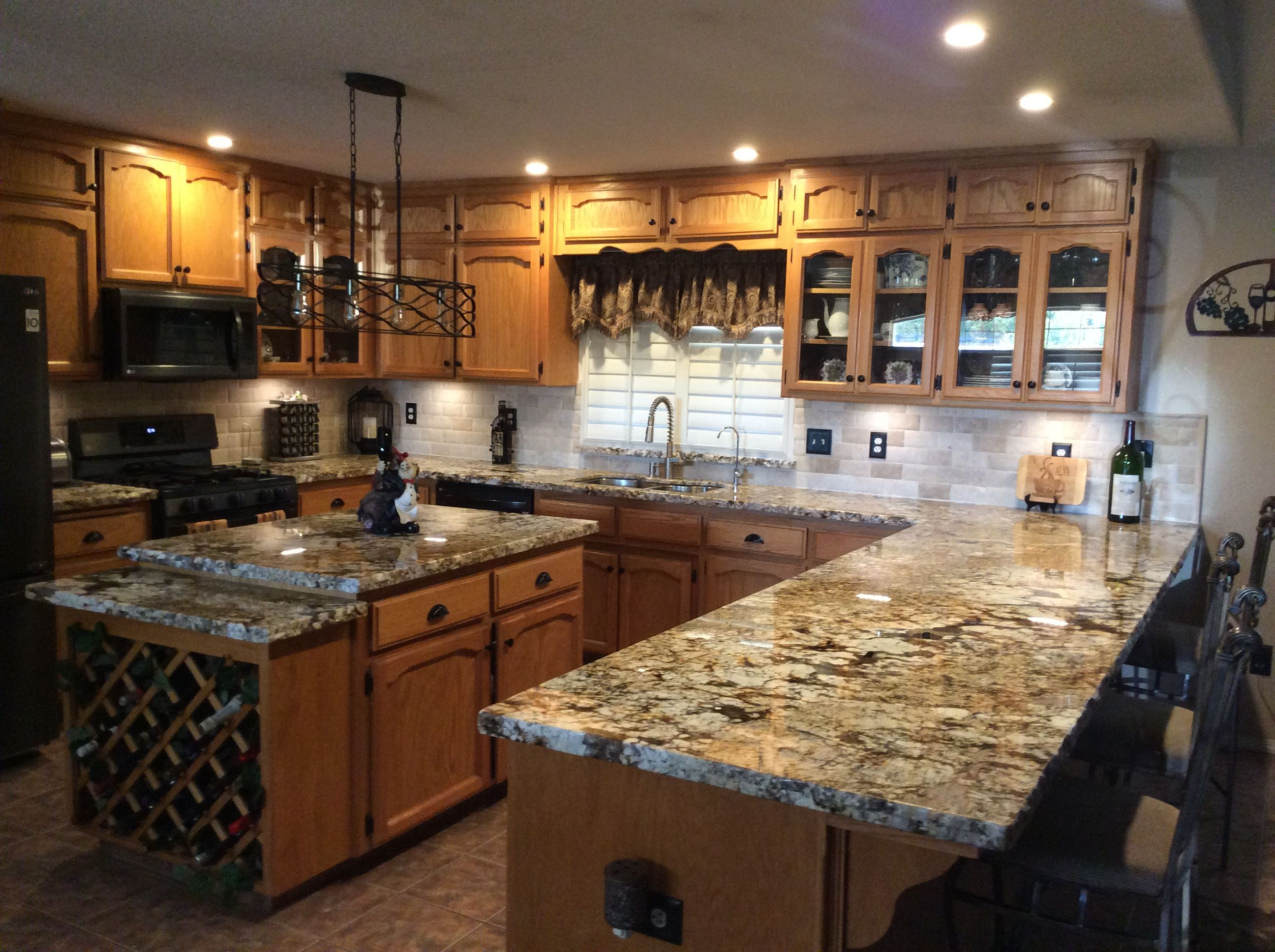 Normandy Granite Kitchen Countertops Granite