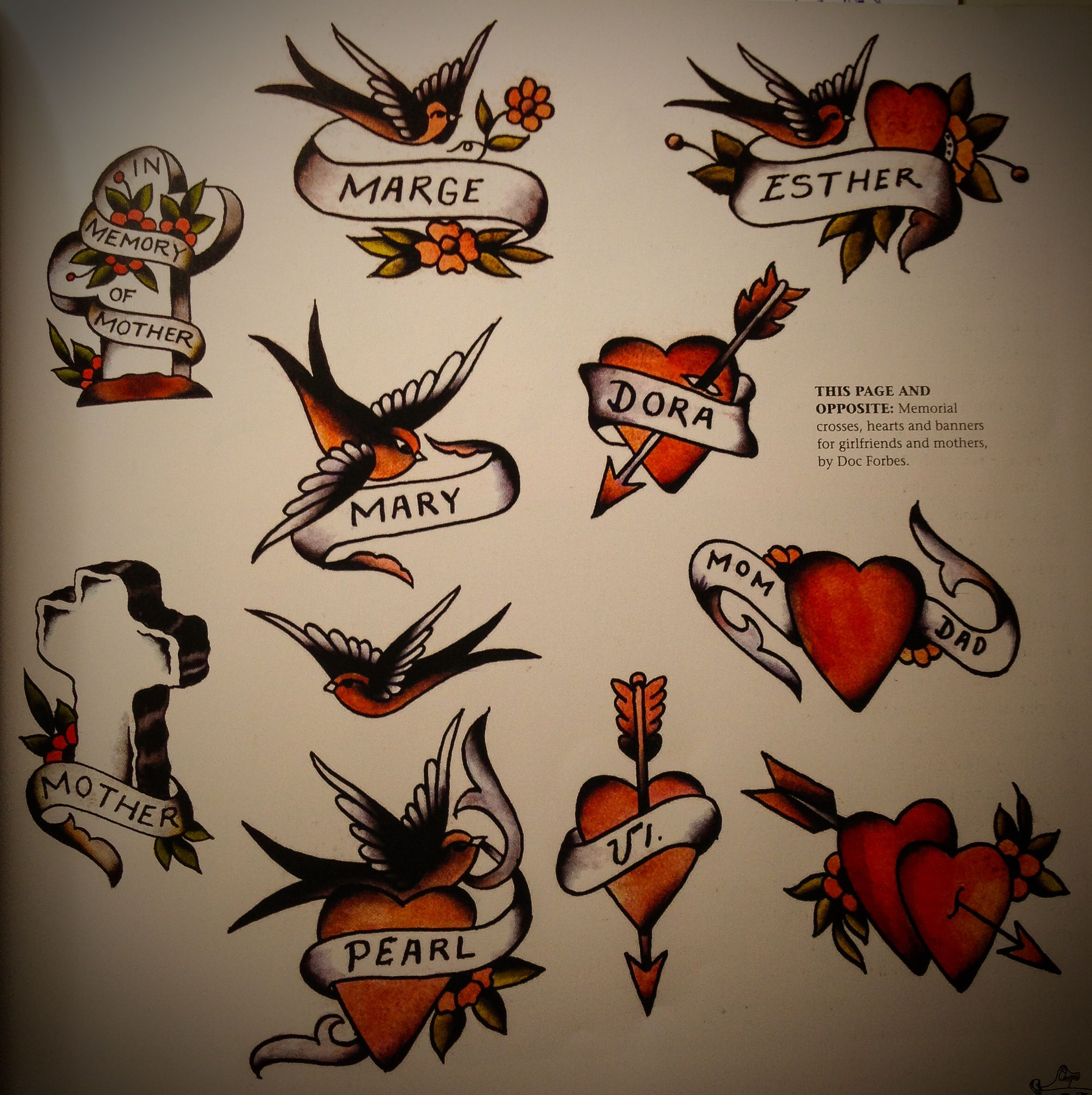 dcdbefd72 Doc Forbes. Bird Tattoo Meaning, Tattoos With Meaning, Swallow Bird Tattoos,  Left