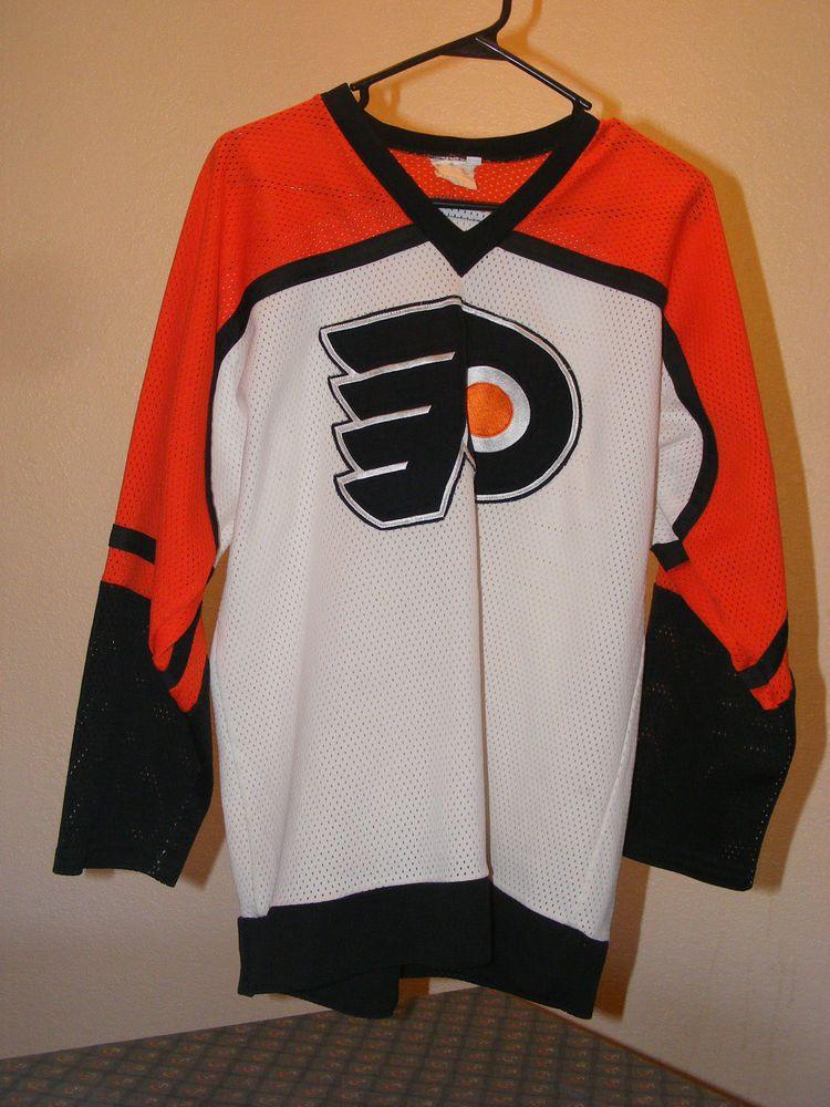 Philadelphia Flyers Hockey Sewn Jersey Adult Medium Nhl Vintage Shirt Unisex Paw Philadelphiafl Vintage Shirts Philadelphia Flyers Philadelphia Flyers Hockey