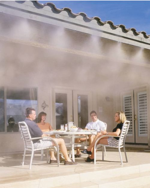 Outdoor Misting System [SOURCE] | Misting system | Patio