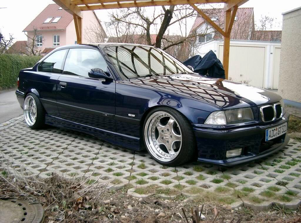 E36 coupe on Classic RH ZW1 wheels