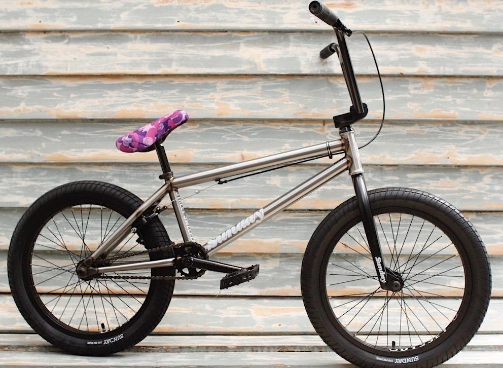 Sunday Bikes Jake Seeley Signature Grip-Violet