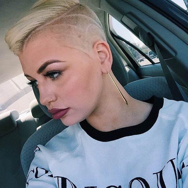 badass shaved hairstyles