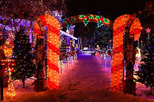 Christmas Archway Great For Driveway
