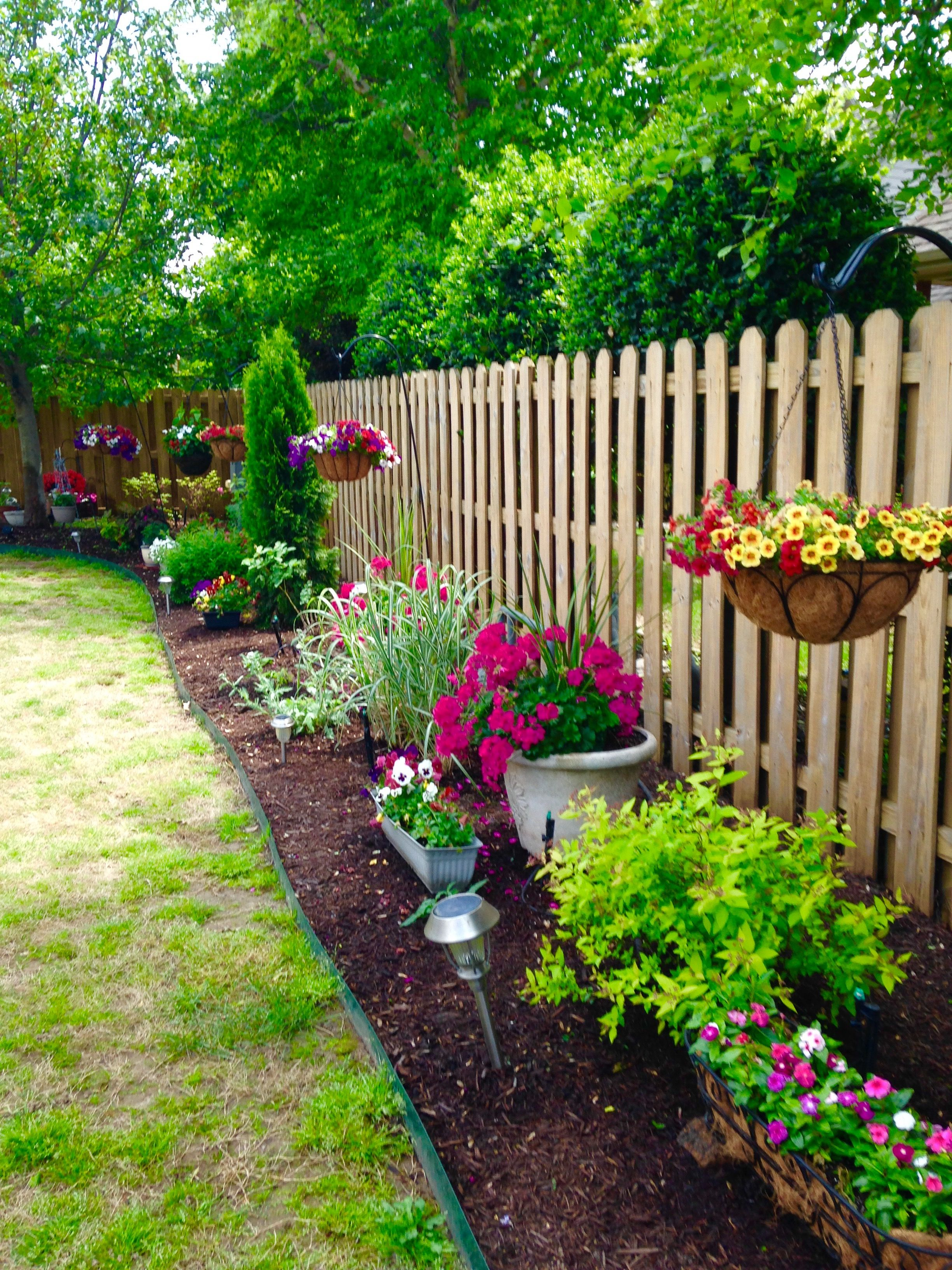 My spring flowers! Backyard landscaping designs