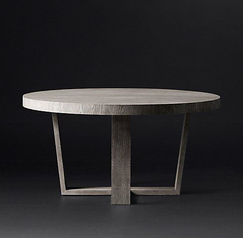 Antoccino Round Dining Table | RH Modern | Dining Tables and ...