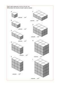 Maths KS2 KS3 KS4 Foundation: Volume of cuboids, with a wide range ...