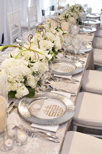 Silver Dinner Plates
