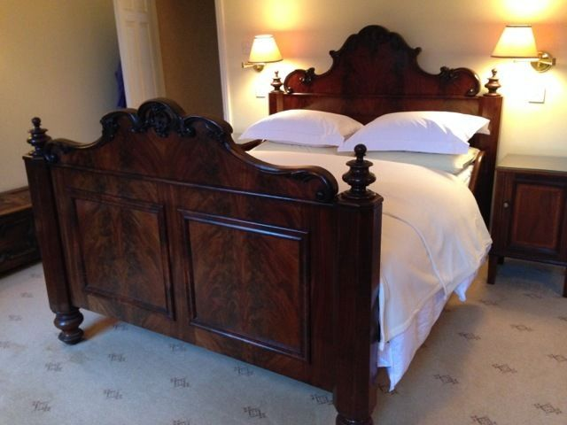 Best Rare King Size Antique Mahogany French Bed Not A 640 x 480