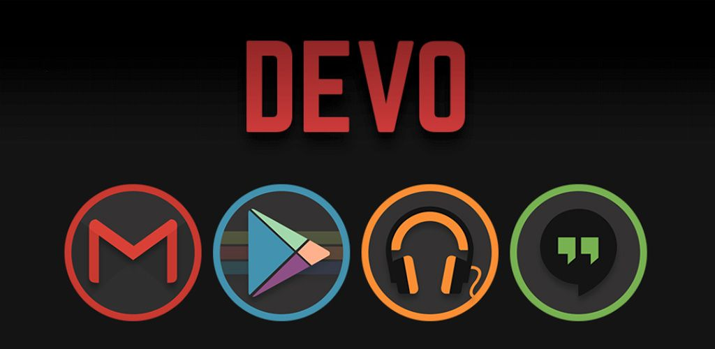 awesome Devo Icon Pack v4.2.5.1 APK Updated Download NOW