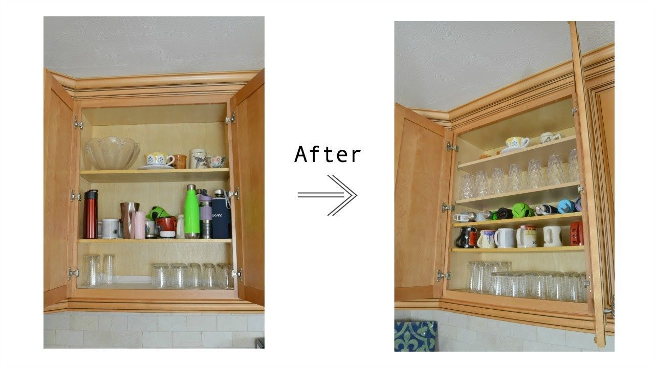 How To Add Shelves To Existing Kitchen Cabinets And Organize Your New Shelves Youtube In 2020 Kitchen Cabinet Shelves Kitchen Furniture Storage Extra Kitchen Storage