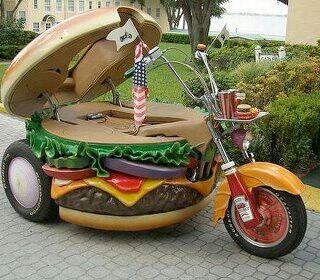 The Burger Bike