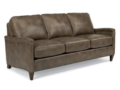For Flexsteel Leather Sofa 3670 31 And Other Living Room Sofas At Wow Furniture In Centennial Co The Jacinto Style Has Refined Scale With Updated