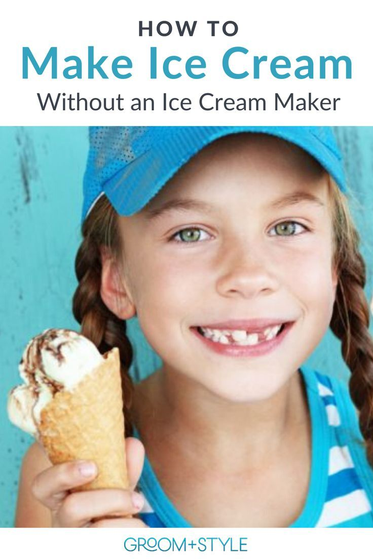 How To Make Home Made Ice Cream Without An Ice Cream Machine
