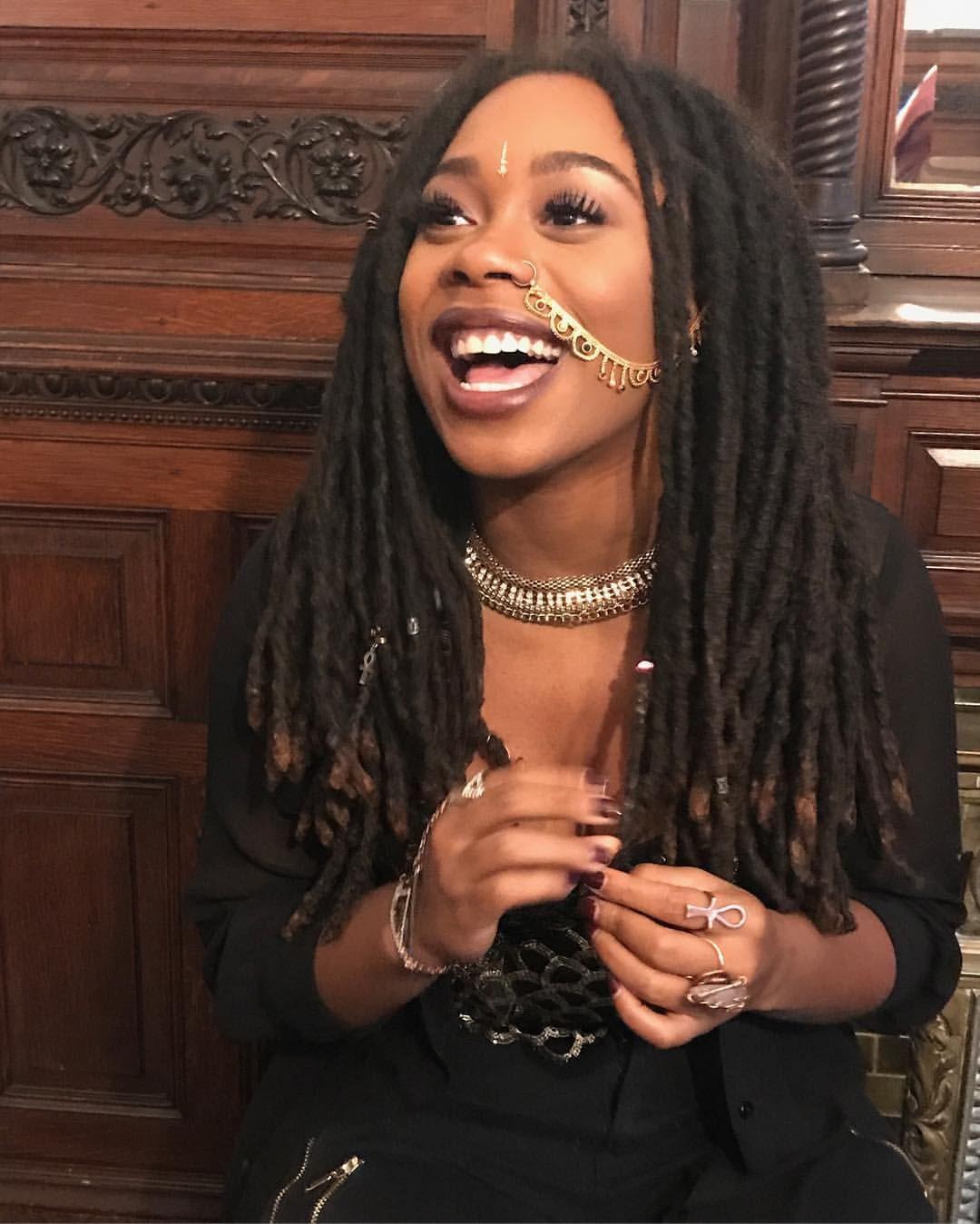 Admirable Black Woman With Locs Dreads Locs Dreadlocks Pinterest Hairstyles For Men Maxibearus
