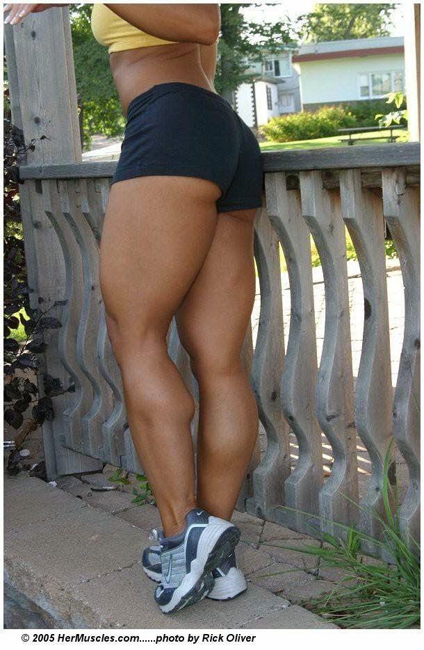 Female legs muscular RICKTOR31 on