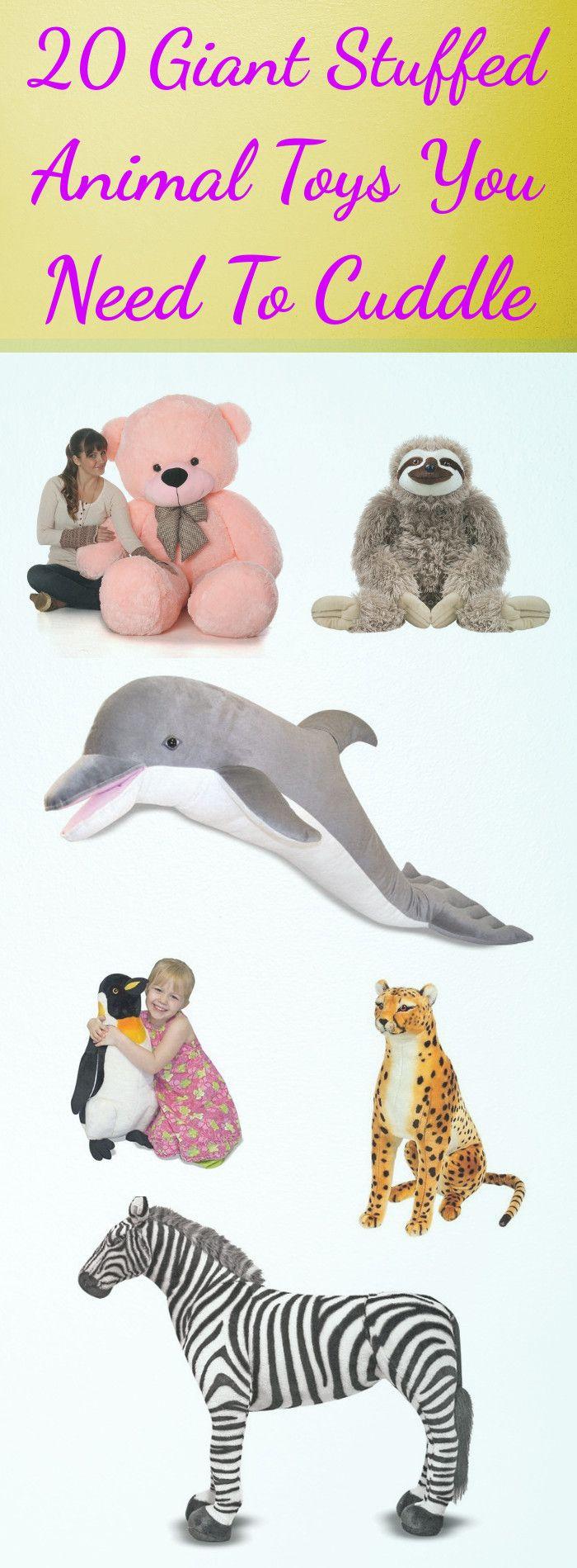 20 Giant Stuffed Animal Toys You Need To Cuddle Giant