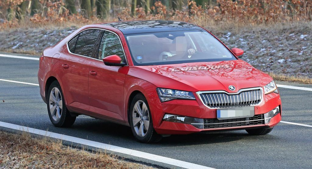 2019 Skoda Superb Practically Undisguised As It Inches Closer To Debut