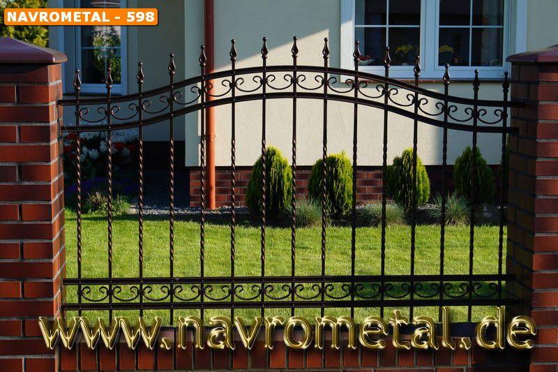 Metallzäune Aus Polen Zaunbau Preise Zaunelemente Aus