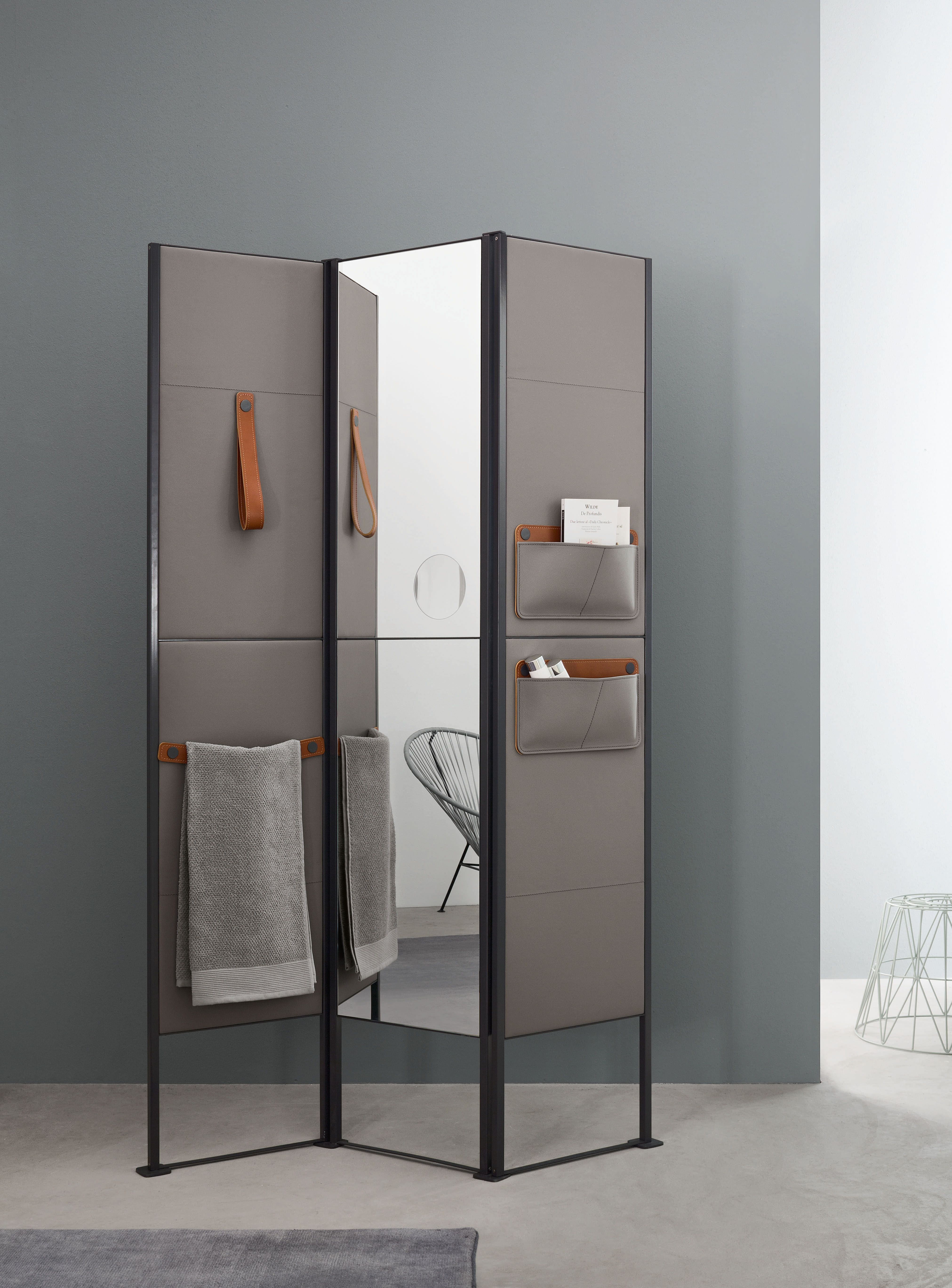 Stylish And Practical Contemporary Furniture For Every: SHADE Is A Practical And Modern Folding Screen, Perfect