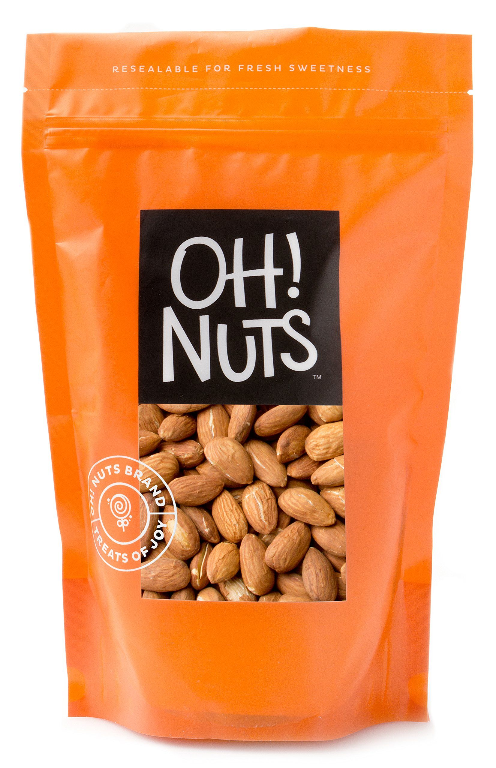 Dry Roasted Unsalted Almonds 2 Pound Bag Oh Nuts You Can Get More Details By Clicking On The Image It Is Ama Roasted Unsalted Almonds Keto Snacks Snacks