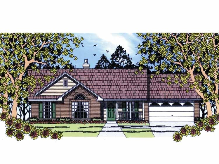 Eplans Country House Plan Three Bedroom Country 1110 Square Feet And 3 Bedrooms From Eplans Hous Country Style House Plans House Plans Country House Plan