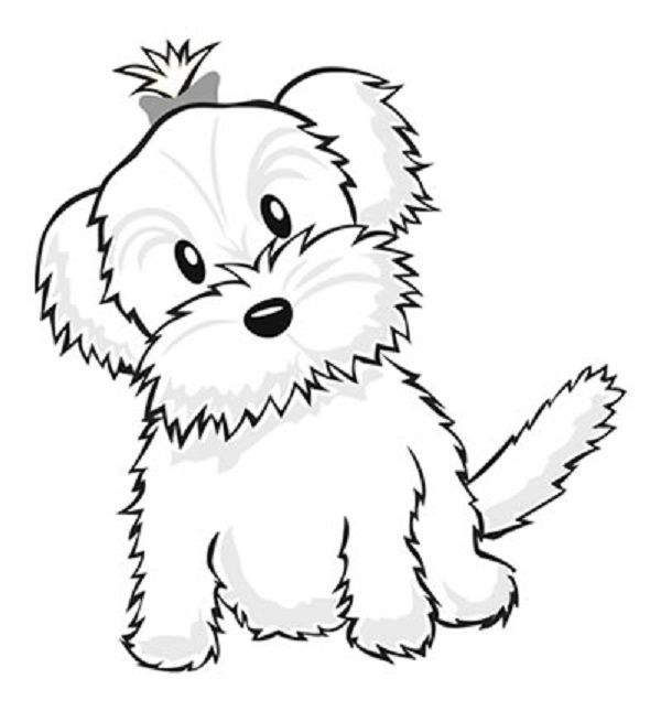 Cool Coloring Pages Of Cute Puppies Free Download Selebritas Yorkie Coloring Pages