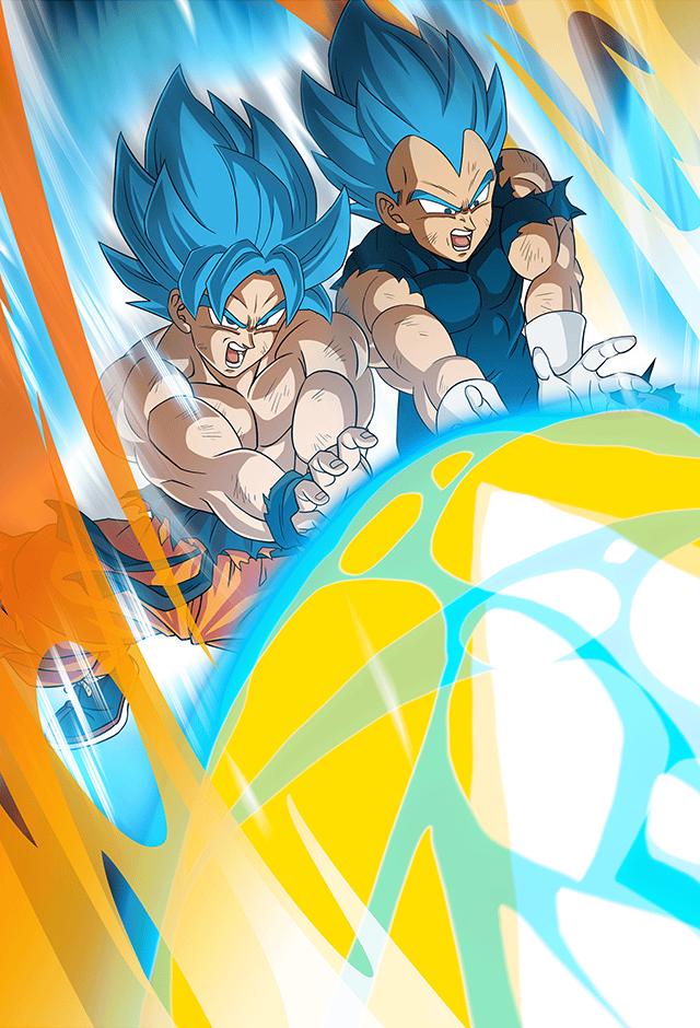 Goku Vegeta Broly Movie 2018 Card Bucchigiri M By Maxiuchiha22 Anime Dragon Ball Super Dragon Ball Wallpapers Dragon Ball Artwork