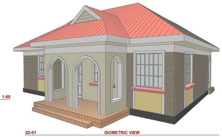 Perfect 2 Bedroom House Plans In Kenya And Pics House Roof Design Bedroom House Plans 2 Bedroom House Plans