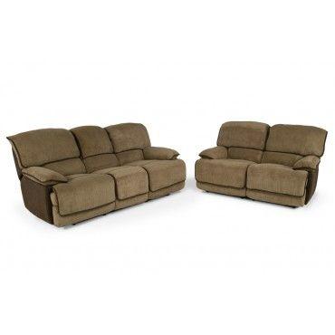 Laredo 2 Piece Set Home Loveseat Sofa Living Room