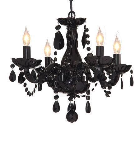 Pin by ginger lindbloom on black pinterest black all jet black chandelier lighting crystal aloadofball Images