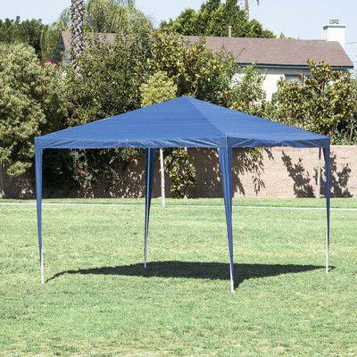Belleze 10 Ft W X 10 Ft D Steel Party Tent Canopy Canopy Wayfair In 2020 Canopy Outdoor Gazebo Gazebo Canopy