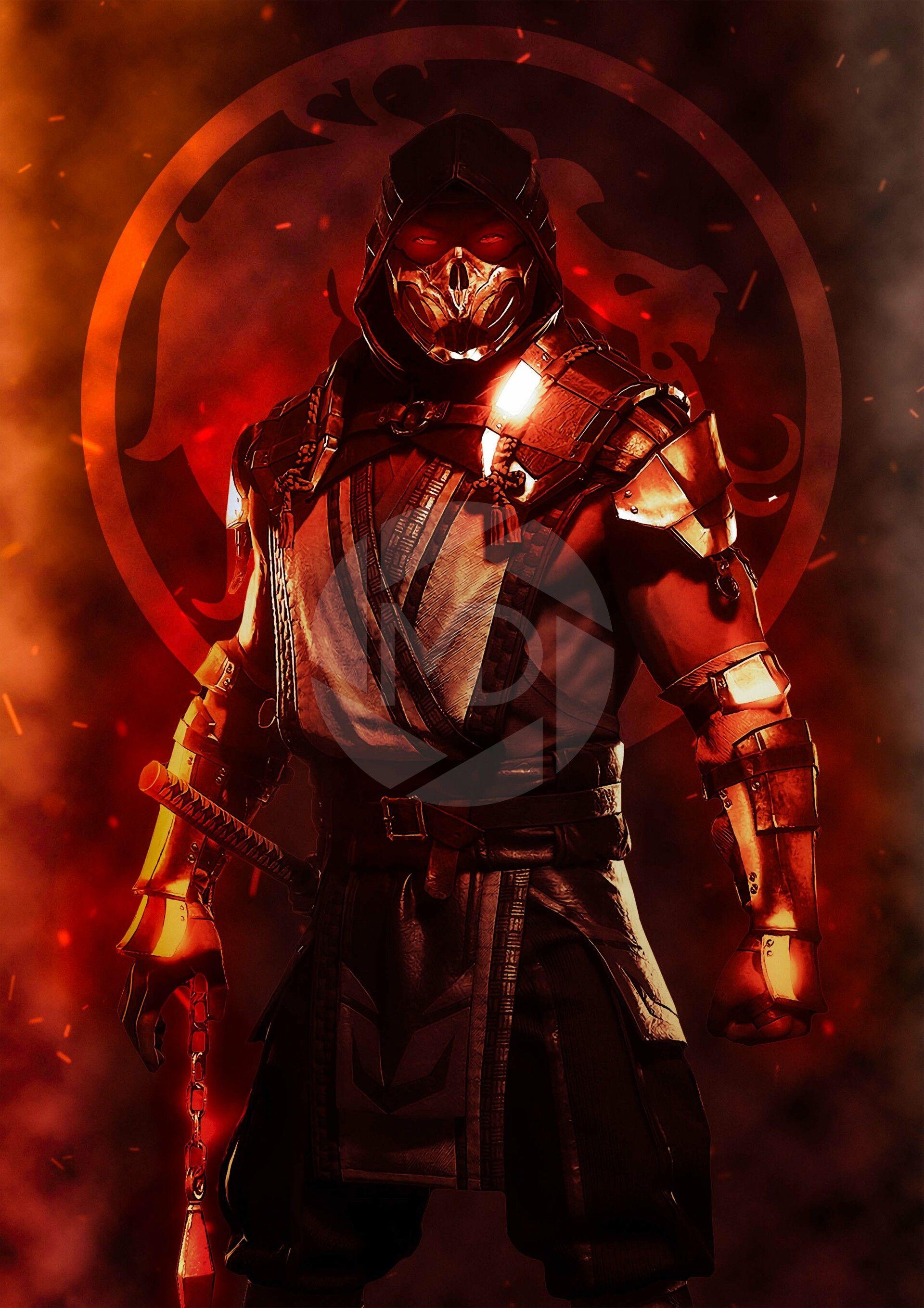 Artstation Mortal Kombat 11 Scorpion Mdesign Digital