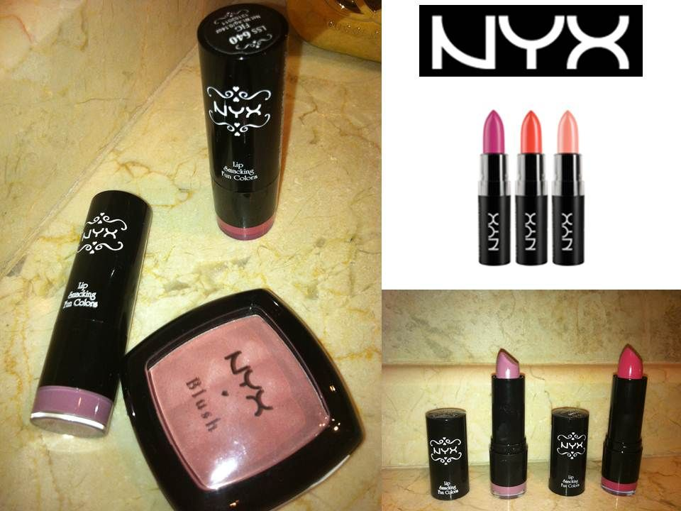 Lovely Twisted: Mis nuevas chuches de NYX Cosmetics