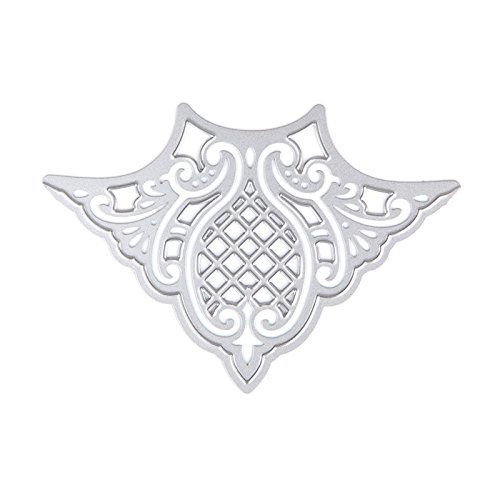 Hunulu Lace Metal Cutting Dies Stencils DIY Scrapbook Paper Card Album Craft Decor * Click image for more details.Note:It is affiliate link to Amazon.