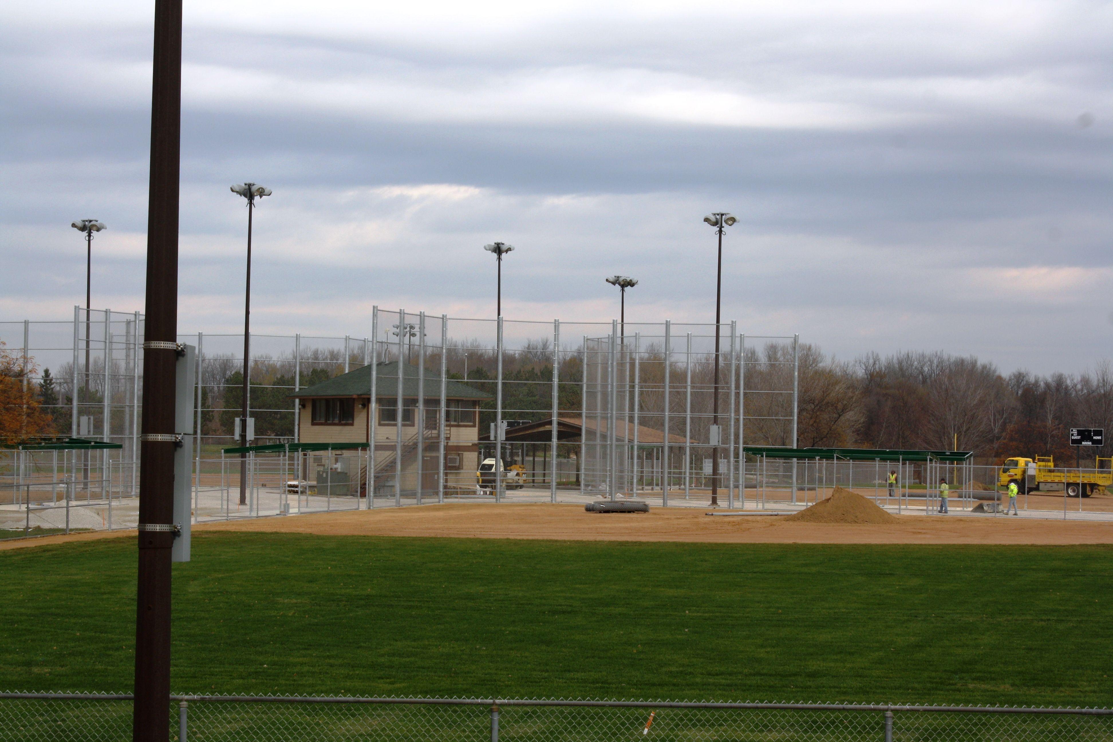 Fischer Fields At Lac Lavon Park Light Baseball Fields Burnsville Mn Dan Gustafson Minnesota Parks Park Baseball Field