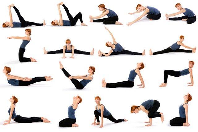 Ejercicios de yoga para principiantes para hacer en casa yoga pinterest yoga para - Ejercicios yoga en casa ...