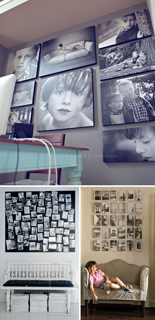 Many great ideas for displaying your photo collections!/crc 5-12 ...