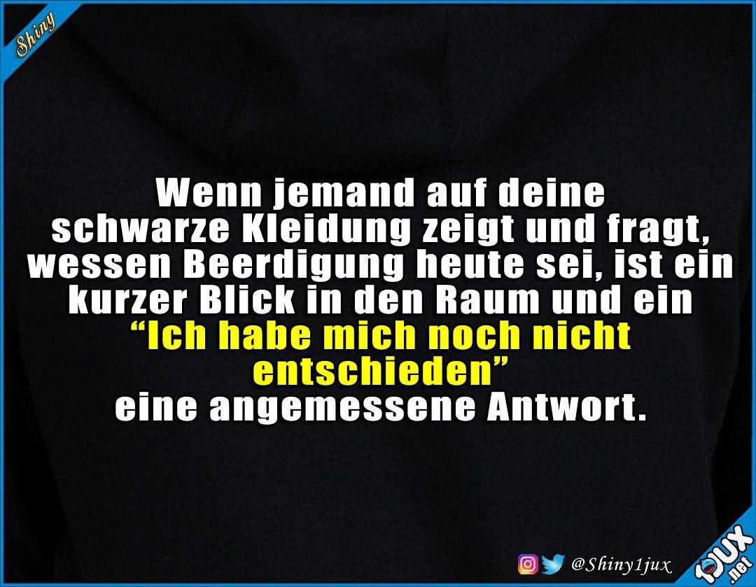 #schwarze #Kleidung #Beerdigung #entschieden #Sprüche # ...