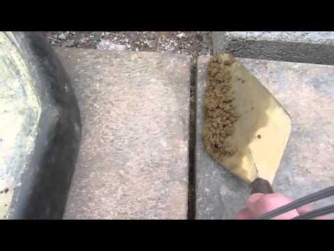 How To Do Pointing Or Fill The Gaps Between Paving Slabs Or Patio Diy Youtube Paving Slabs Garden Slabs Paving Diy