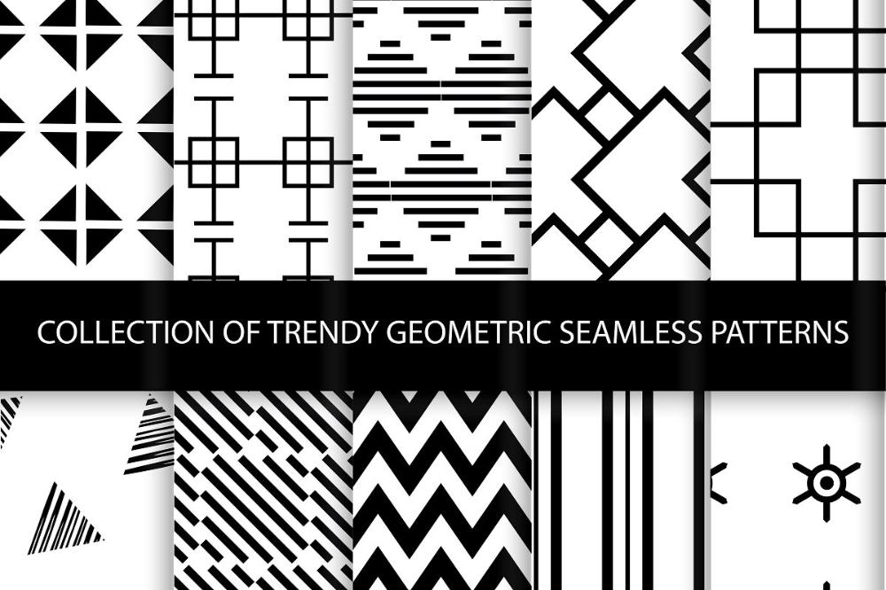 Geometric seamless patterns in 2020 Seamless patterns