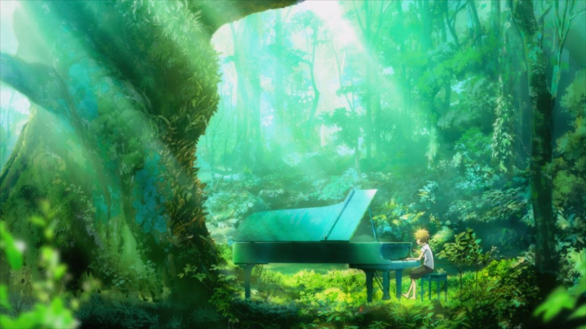 Piano No Mori Piano Best Collection I Anime Screenshots Piano Otaku Anime