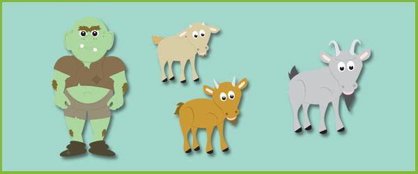 17 Best images about Prek/K- 3 billy goats gruff on Pinterest ...