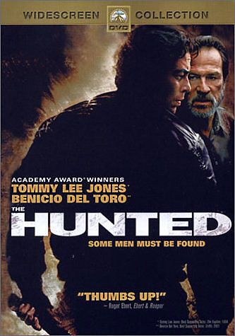Tommy Lee Jones Movies List | Synopsis of the DVD Movie: The Hunted, Tommy Lee Jones, Benicio Del ...